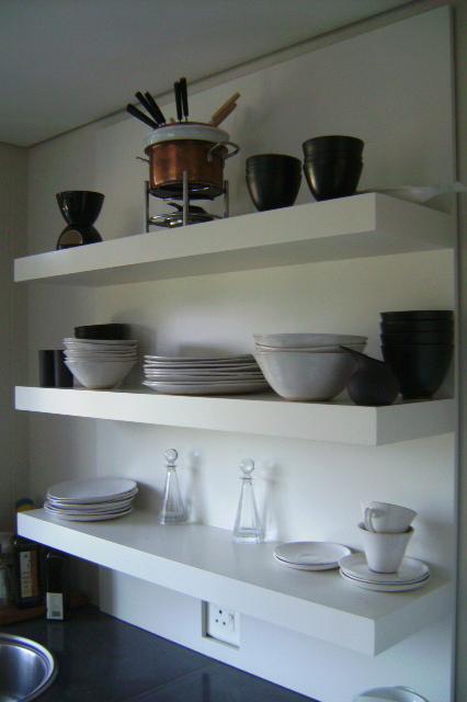 Floating Shelves for Kitchen